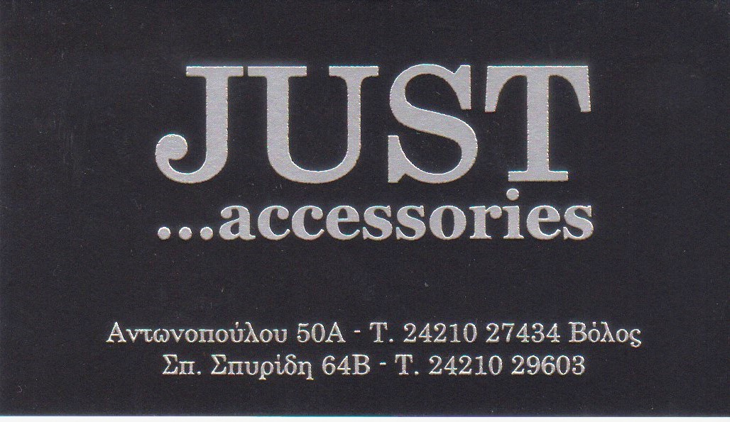 just accessories